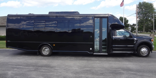 28 Passenger shuttle bus